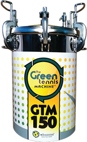 Rebounces 150 ball capacity tennis ball pressurizer